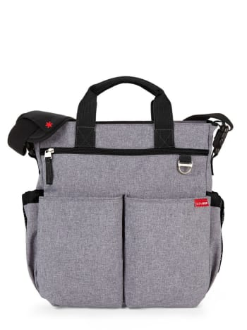 Skip Hop - Duo Signature Diaper Bag.Zinc.1SIZE
