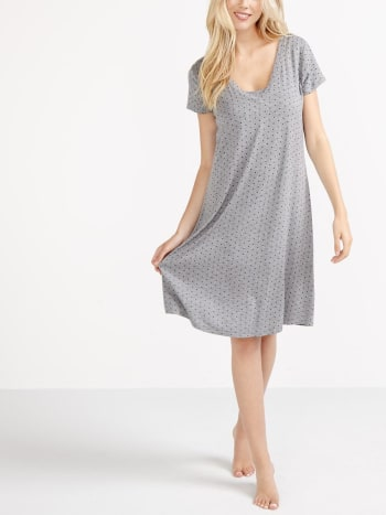 Essentials - Printed Nursing Sleepshirt