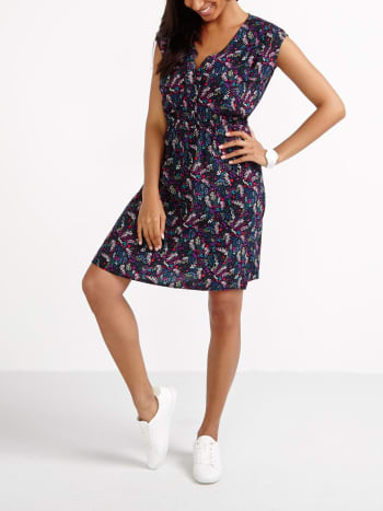 Printed Nursing Dress