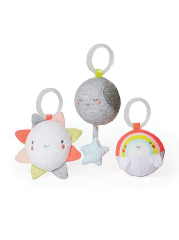 Skip Hop - Silver Lining Cloud Balls Trio Baby Toy