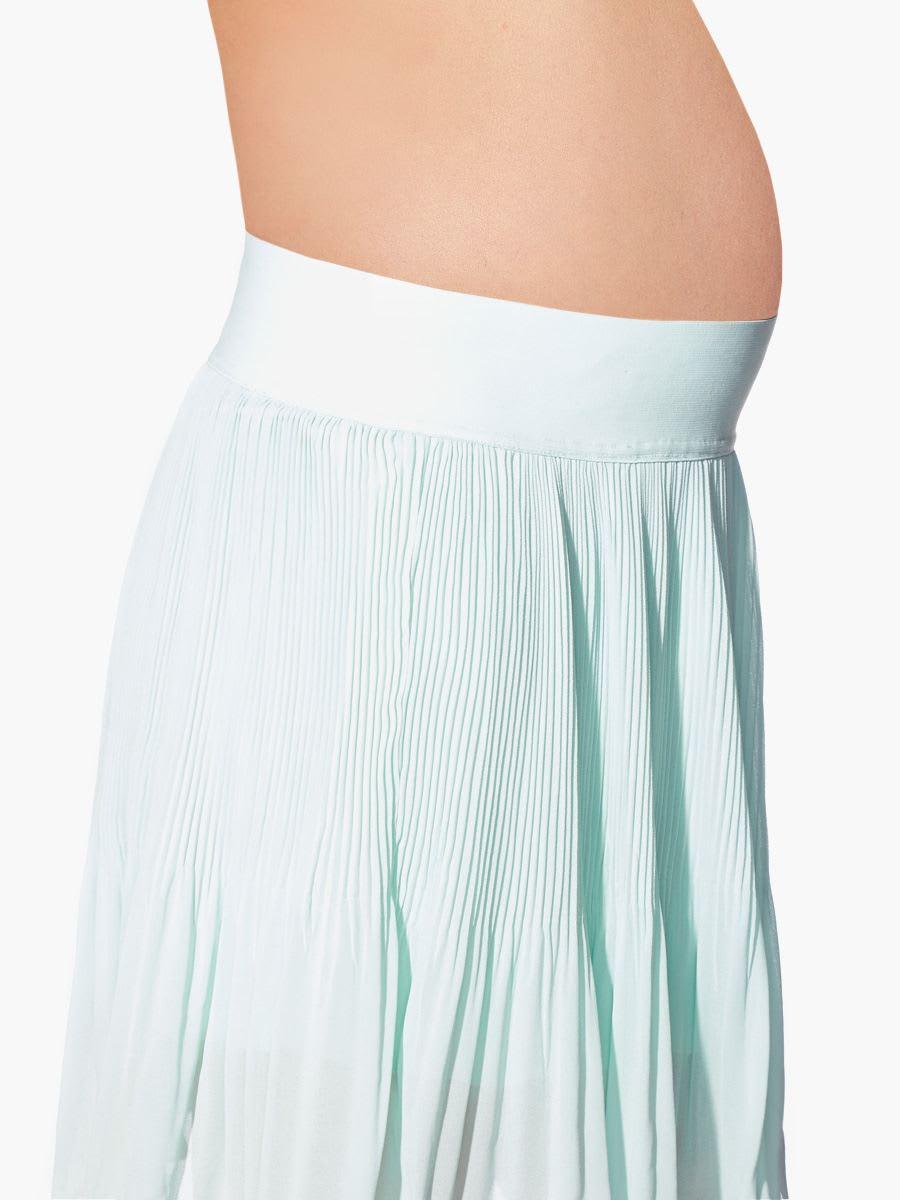 pleated maternity skirt thyme maternity