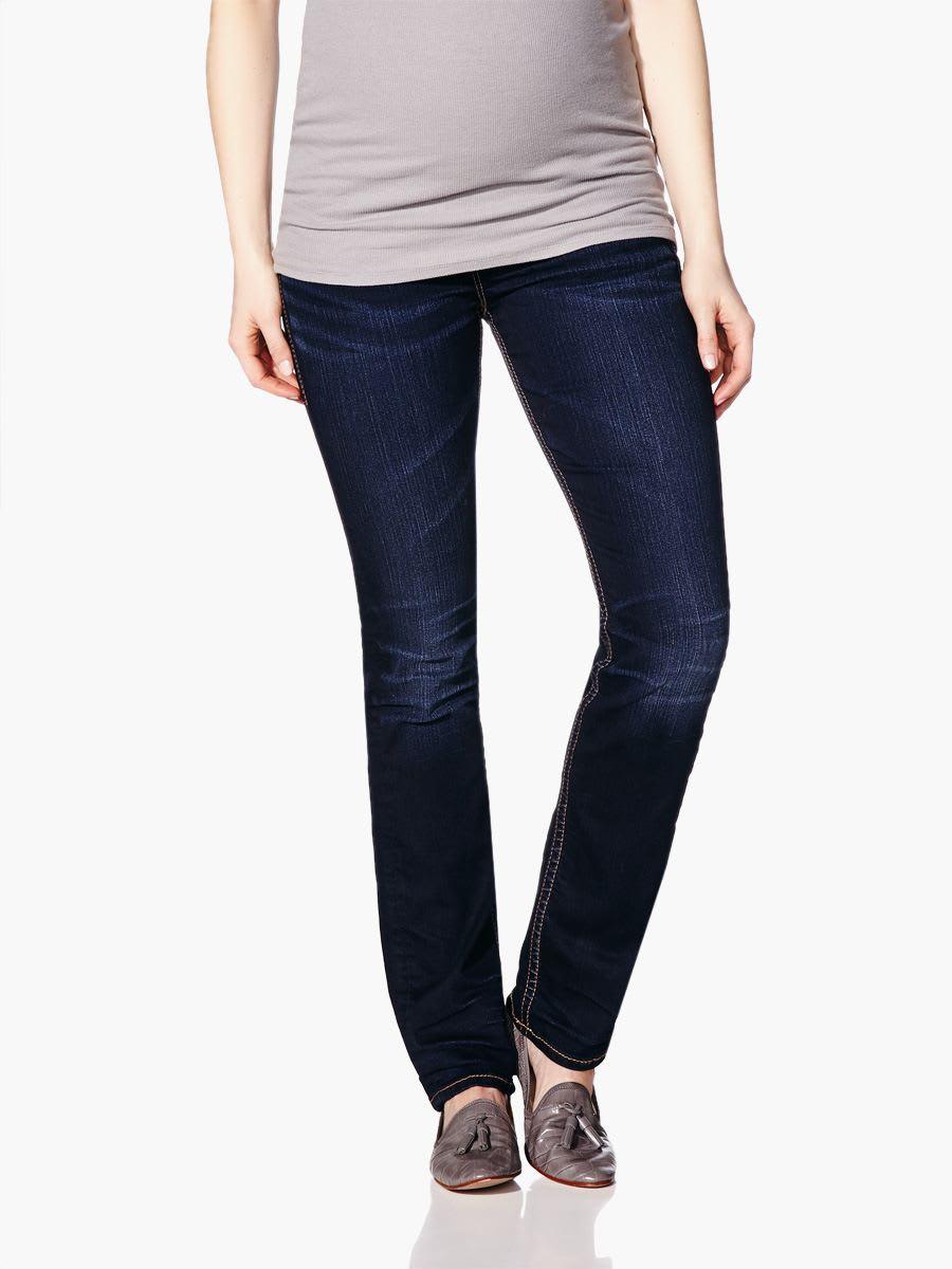 Silver Jeans - Straight Leg Maternity Jean   Thyme Maternity