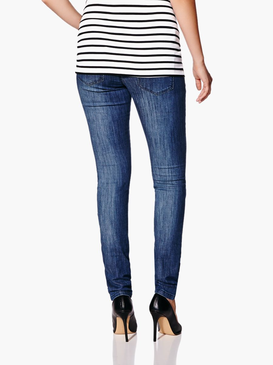ASOS DESIGN Maternity Ridley high waist skinny jeans in bright blue wash with under the bump waistband. $ ASOS DESIGN Maternity pull on jegging in clean black with over the bump waistband. $ ASOS DESIGN Maternity Ridley skinny jeans in .