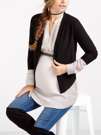 Stork & Babe - Long Sleeve Maternity Cardigan