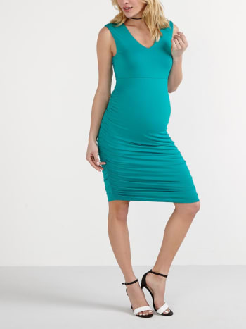 Stork & Babe- Sleeveless Maternity Bodycon Dress