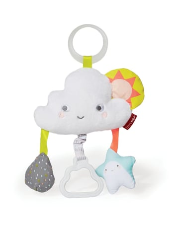 Skip Hop - Silver Lining Cloud Jitter Stroller Toy