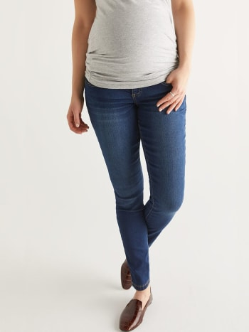 Insider - Dark Wash Super Skinny Maternity Jean