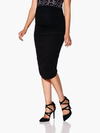 Stork & Babe - Knit Maternity Pencil Skirt