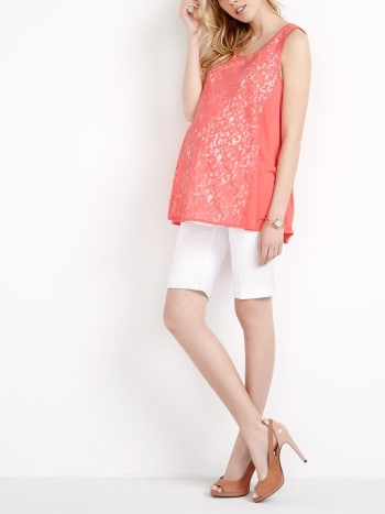 Stork & Babe - Embroidered Maternity Cami