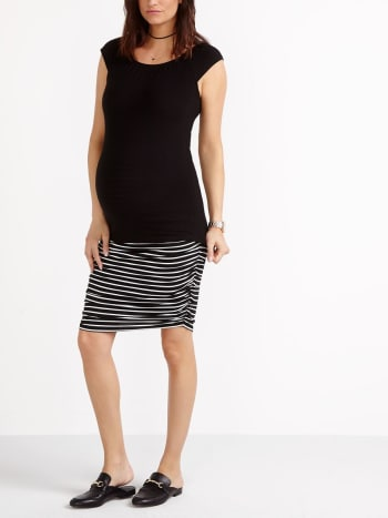 Stork & Babe -  Cap Sleeve Maternity Top