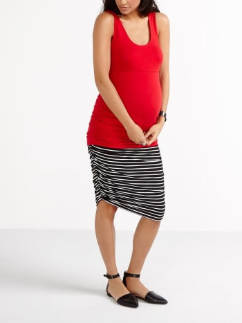 Stork & Babe - Sleeveless Maternity Top