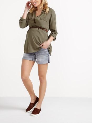 Capris & Shorts - Maternity Clothing   Thyme Maternity