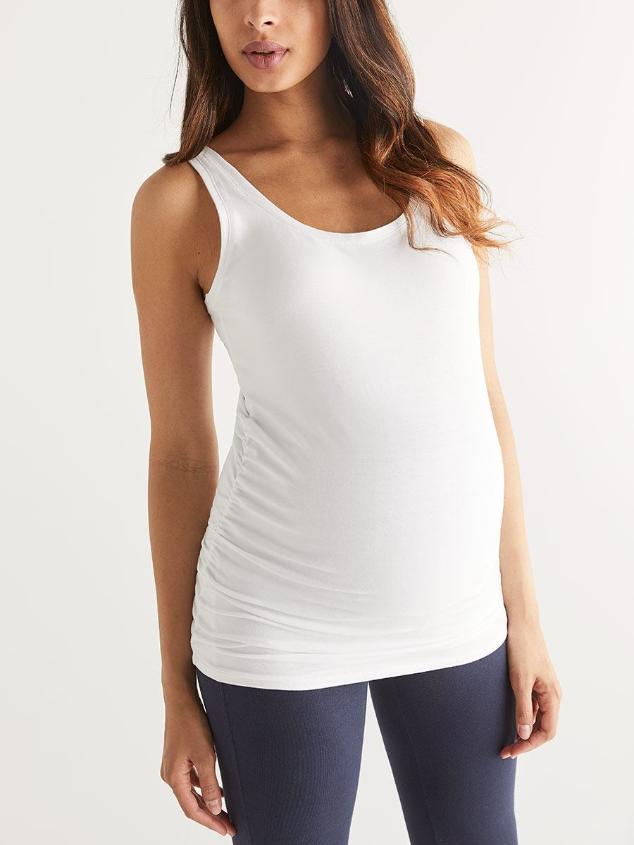 Find stylish maternity t shirts and tank tops online at A Pea in the Pod: Your source for trendy maternity tees. A Pea in the Pod Maternity.