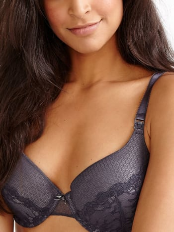 Demi Cup Nursing Bra with Lace