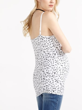 Printed Nursing Tank Top