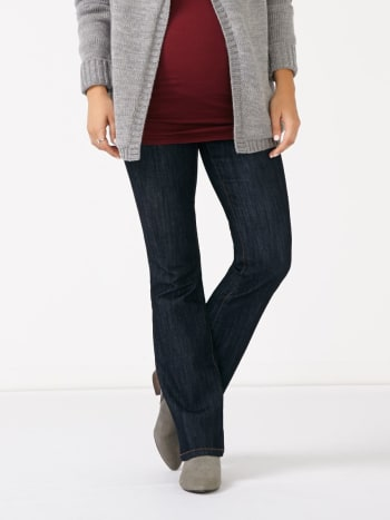 Petite Flared Maternity Jean