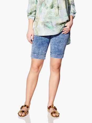 Makers of True Originals - Denim Maternity Short