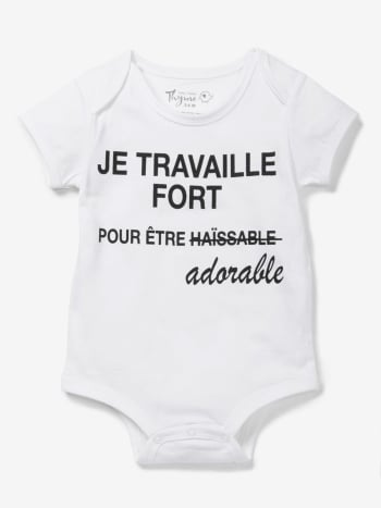 Baby Thyme - Printed Baby Onesie