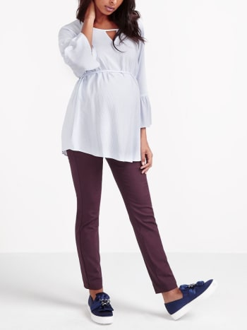 Stork & Babe - Coloured Skinny Maternity Power Pant