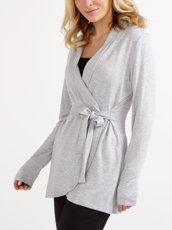 Long Sleeve Maternity Pyjama Cardigan