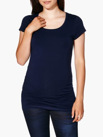 Maternity Scoop Neck T-Shirt