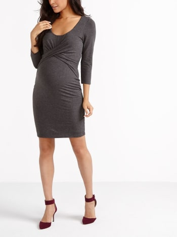 Stork & Babe - Crossover Maternity Dress