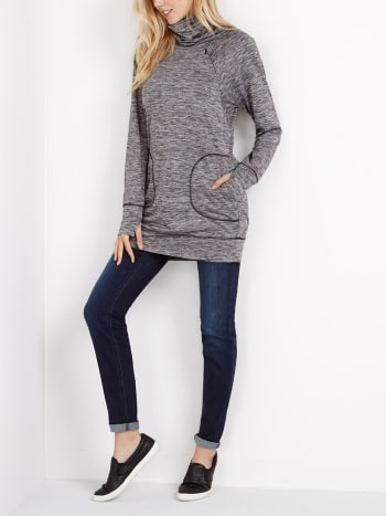 Long Sleeve Nursing Sweatshirt