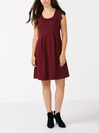 Cap Sleeve Nursing Dress