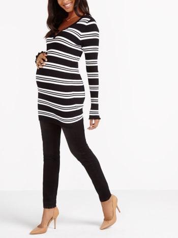 Stork & Babe - Striped Maternity Tunic