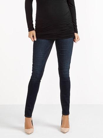 Paige - Skinny Verdugo Maternity Jean with Sandblast.Saphire Indigo.34