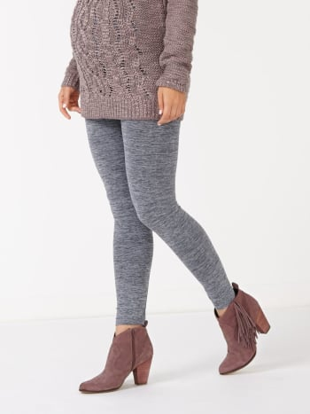 Legging de maternité chiné sans coutures