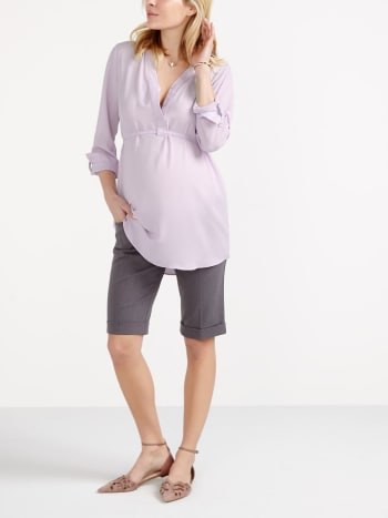 Stork & Babe - Maternity City Short