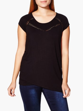 Cap Sleeve Nursing Top