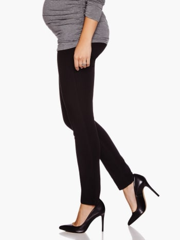 DL - Black Skinny Angel Maternity Jean