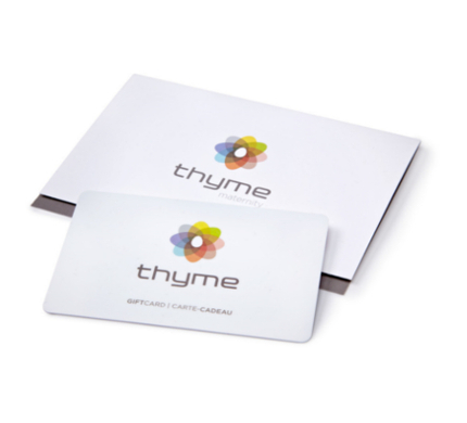 The ThymeGift Cards