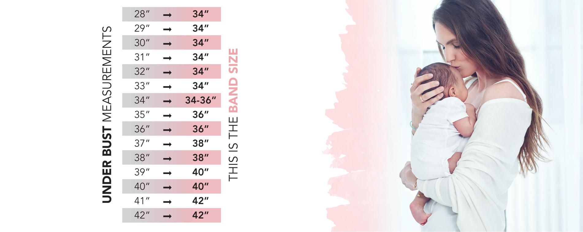 Bras Size Chart