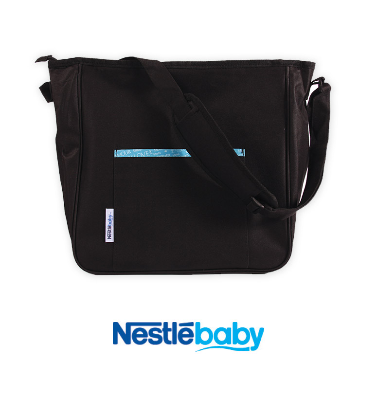 Diaper bag and changing mat