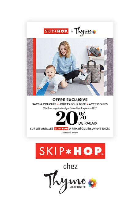Un coupon-rabais de 20% skip*hop