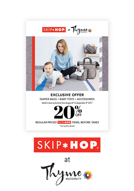 20% off coupon skip*hop