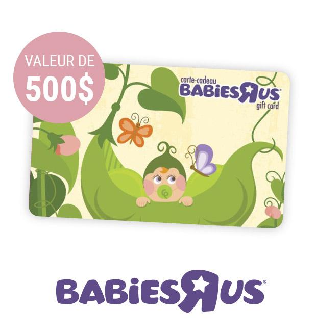 Carte-cadeau babiesrus