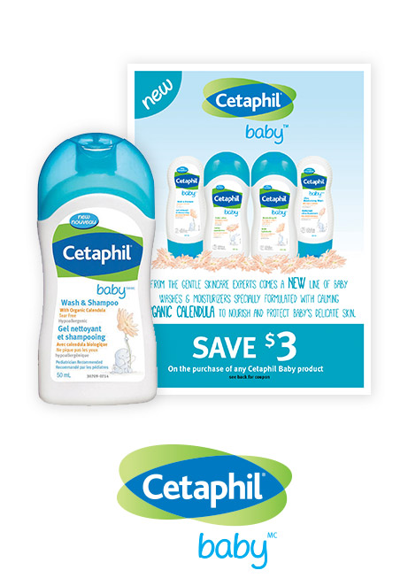 Baby wash & shampoo sample and $3 off coupon