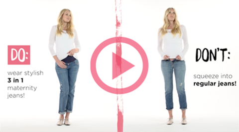Check out our dos & don'ts video, to learn more about these maternity fashion tips!