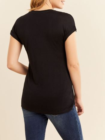 Short Sleeve Maternity Top