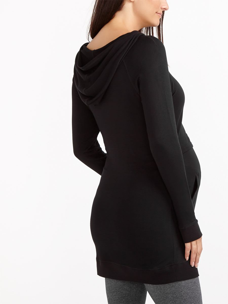 Long Sleeve Nursing Hooded Tunic