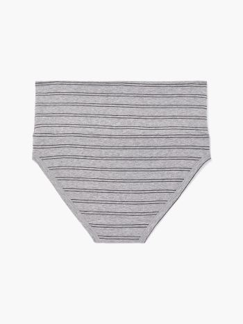Striped Foldover Maternity Brief Panty