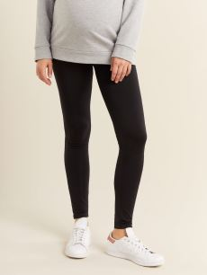Black Seamless Maternity Legging