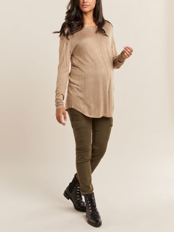 Loose Maternity Sweater