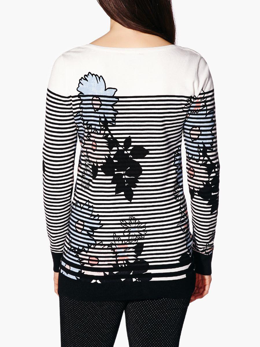 68c965746b243 Stork & Babe - Long Sleeve Printed Maternity Sweater   Thyme Maternity