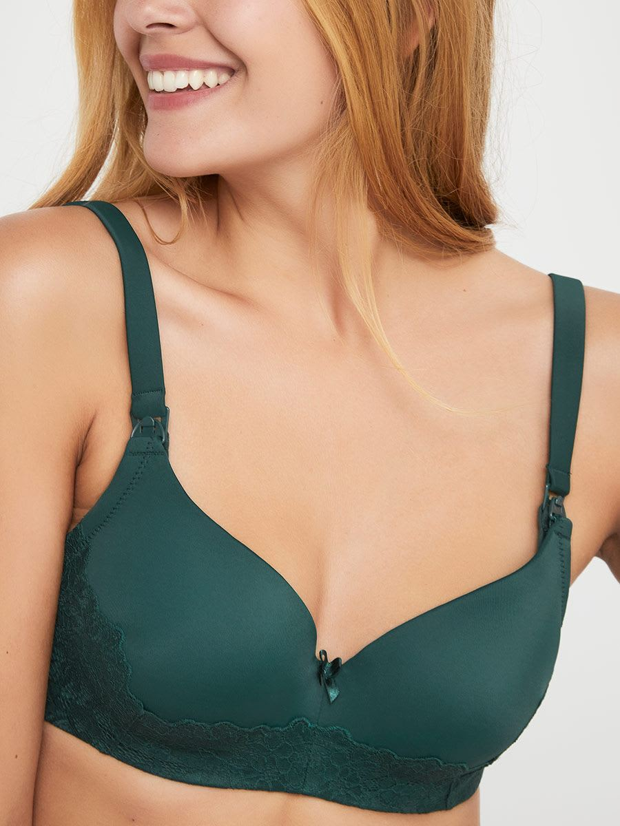 f671fd4e1 Contour Balconnet Nursing Bra with Lace
