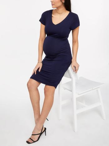 Stork & Babe - Short Sleeve Maternity Dress